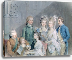 Постер Зоффани Йоханн The family of Charles Schaw, 9th Baron Cathcart