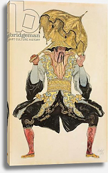 Постер Бакст Леон The Chinese Mandarin, costume design for 'Sleeping Beauty', 1921