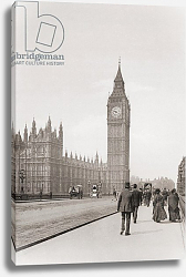 Постер The Palace of Westminster, aka the Houses of Parliament or Westminster Palace, London, England