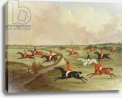Постер Дэлби Джон The Quorn Hunt in Full Cry: Second Horses, after a painting by Henry Alken