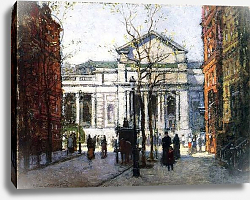 Постер Корнойер Поль The New York Library