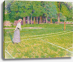 Постер Гор Спенсер Tennis at Hertingfordbury, 1910