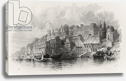 Постер Аллом Томас (грав) Benares, India, engraved by A. Willmore