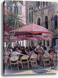 Постер Лоундс Розмари (совр) Lunch in the Shade, Monte Carlo