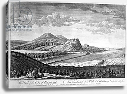 Постер Сэндби Поль West View of the City of Edinburgh, 1753