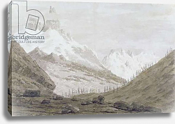 Постер Козенс Джон (акв) Between Chamonix and Martigny, 1776