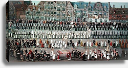 Постер Альслот Денис The Ommeganck in Brussels in 1615: Procession of Notre Dame de Sablon, 1616