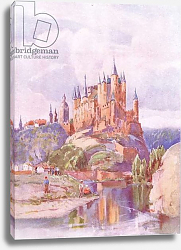 Постер Брюль Луи The Alcazar, Segonia, from Hutchinson's Picturesque Europe published by Hutchinson & Son, c.1930