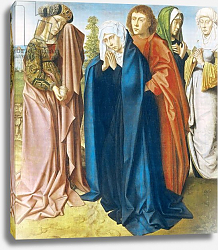 Постер Давид Герард The Virgin Mary with St. John the Evangelist and the Holy Women, c.1481