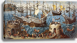 Постер Баутервик Фридрих Embarkation of Henry VIII on Board the Henry Grace a Dieu in 1520