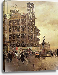 Постер Ниттис Джузеппе The Place des Pyramides, Paris, 1875