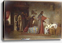Постер Поленов Василий The Raising of Jairus' daughter, 1871