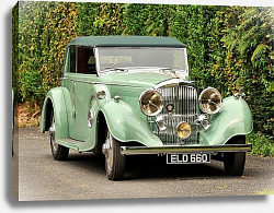 Постер Bentley 4 1 4 Litre Tourer by Thrupp & Maberly '1937