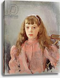 Постер Серов Валентин Portrait of Grand Duchess Olga Alexandrovna 1893