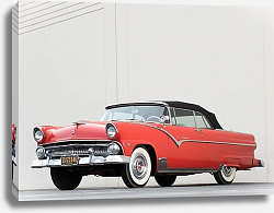 Постер Ford Fairlane Sunliner Convertible '1955