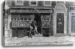 Постер Шарф Джордж (грав) Colourman's Shop, St. Martin's Lane, London, 1829