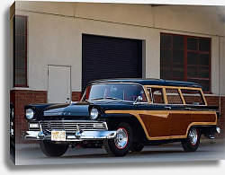 Постер Ford Country Squire '1957
