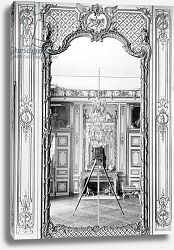 Постер Гирадон Адольф (фото, фр) Photograph of a mirror at the Chateau de Versailles with the reflection of Giraudon's camera, c.1890