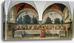 Постер Гирландайо Доменико The Last Supper, 1480