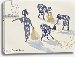 Постер Виллис Люси (совр) Clearing Leaves, Senegal, 2003