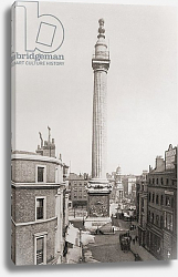Постер The Monument to the Great Fire of London 1902.