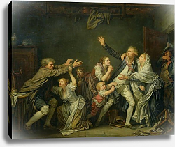 Постер Грёз Жан-Батист The Father's Curse or The Ungrateful Son, 1777