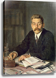 Постер Бродский Исаак Portrait of the Author Maxim Gorky, 1929