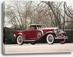 Постер Duesenberg J 340 Convertible Coupe by Murphy '1932