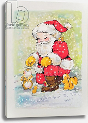 Постер Мэттьюз Диана (совр) Father Christmas with Animals