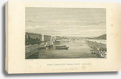 Постер Pont Louis XVI, from Pont Royal