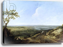 Постер Джонс Томас View of Portsmouth from Portsdown Hill
