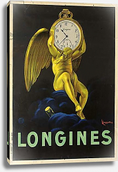 Постер Капиелло Леонетто Advertising poster for the Swiss watchmakers Longines, 1922