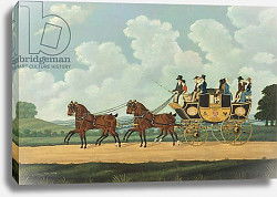 Постер Корди Джон J. & W. Chaplin's Dover-London Stage on the Road