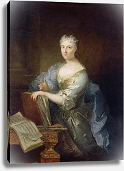 Постер Турниер Робер Portrait of the singer Marie-Louise Desmatins