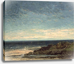 Постер Курбе Гюстав (Gustave Courbet) The Sea