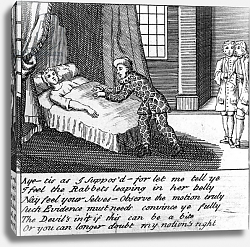 Постер Кинг Хайнц The Doctor in Labour, or the New Whim Wham from Guildford, circa 1726
