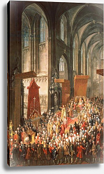 Постер Мейтенс Мартин The Investiture Joseph II following his coronation as Emperor of Germany in Frankfurt, 1764