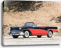 Постер Buick Roadmaster Convertible (76C) '1957