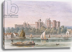 Постер Шепард Томас (акв) View of Lambeth Palace from the Thames, 1837