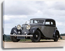 Постер Bentley 3 1 2 Litre Sports Saloon '1935