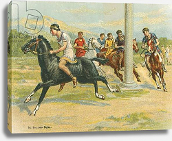 Постер Байлс Уильям Races Historic and Modern, Greek Horse Races