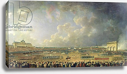 Постер Демаки Пьер The Festival of the Federation at the Champ de Mars, 14 July 1790 2