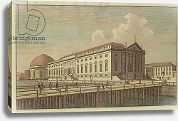 Постер Розенбург Йоханн Джордж View of the Opera House in Berlin, 1773