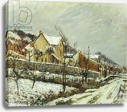 Постер Лоизеу Густав Village in the Snow; Village dans la Neige, 1911