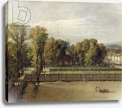 Постер Давид Жак Луи View of the Luxembourg Gardens in Paris, 1794
