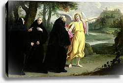 Постер Шампень Филипп Scene from the Life of St. Benedict