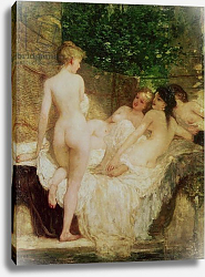 Постер Лотц Кароли After the Bath, c.1880