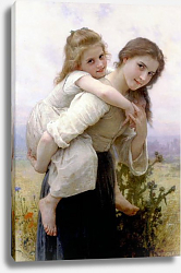 Постер Бугеро Вильям (Adolphe-William Bouguereau) Приятная ноша
