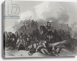 Постер Каттермол Джордж (грав) Storming of Bristol, engraved by J.C. Varrall 1844