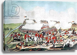 Постер Вест Бенджамин The Battle of New Orleans and the Death of Major General Packenham, 8th January 1815